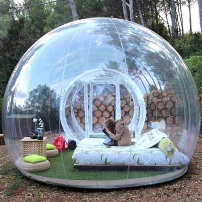 Bubble Tent House